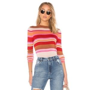 FREE PEOPLE Show Off Your Stripes Long Sleeve
